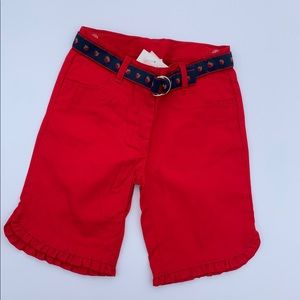 "New Janie and Jack Capri Pants ""Strawberry Sweet"""